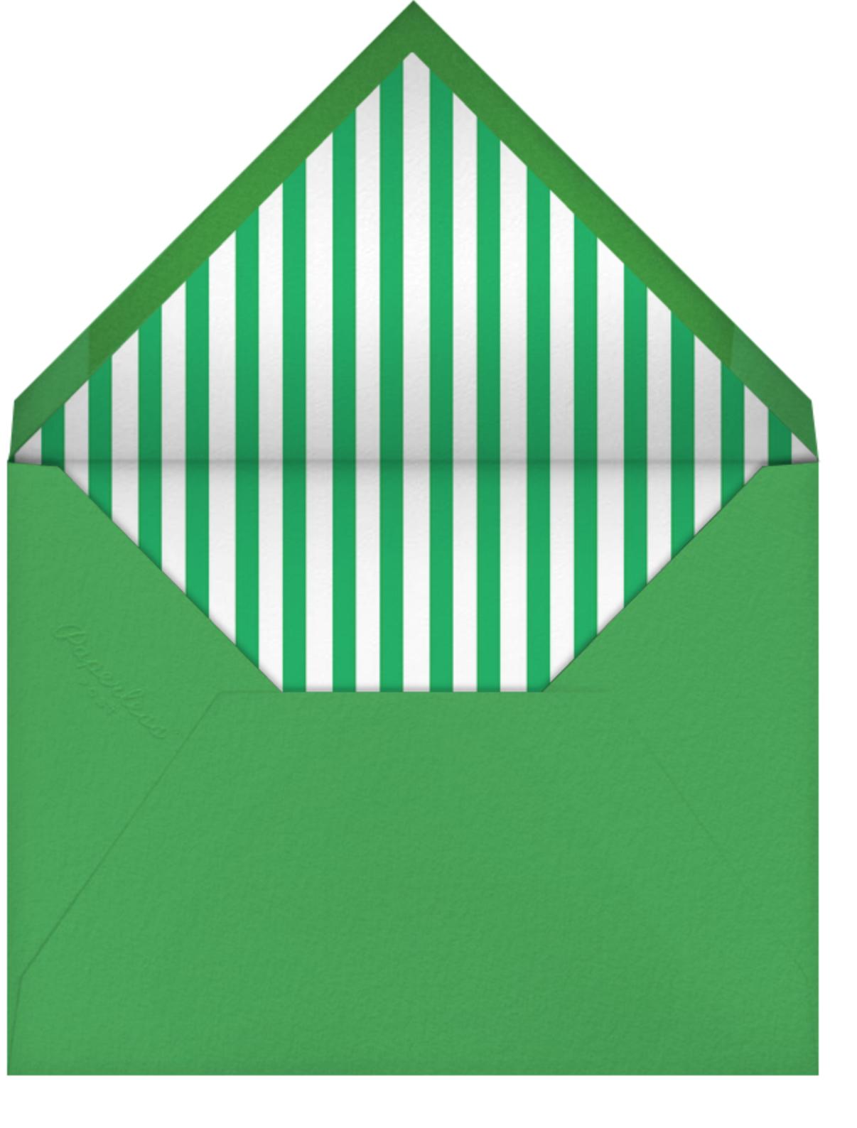 Irish Kisses - Jonathan Adler - St. Patrick's Day - envelope back