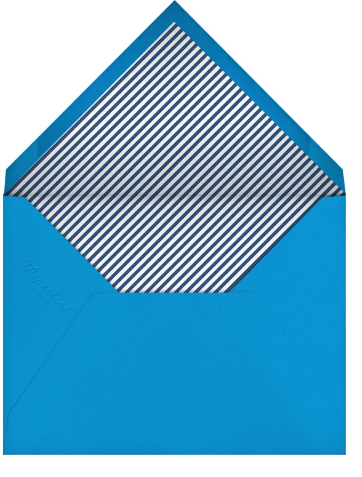 Happy Happy Happy - Blue - Jonathan Adler - Birthday - envelope back