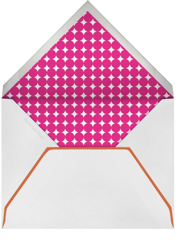 Cake and Candles (Greeting) - Pink - Jonathan Adler - Birthday - envelope back