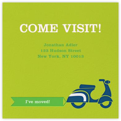 Scoot-a-Toot - Green - Jonathan Adler - Announcements