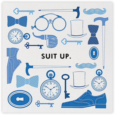 Suit Up - Jonathan Adler - Jonathan Adler invitations