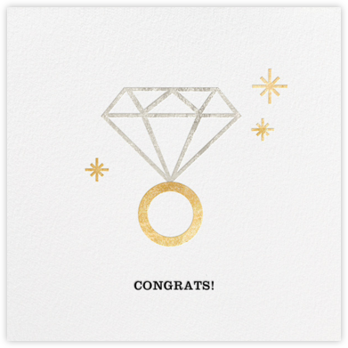 Rock On (Greeting) - Metallic - Jonathan Adler - Wedding congratulations