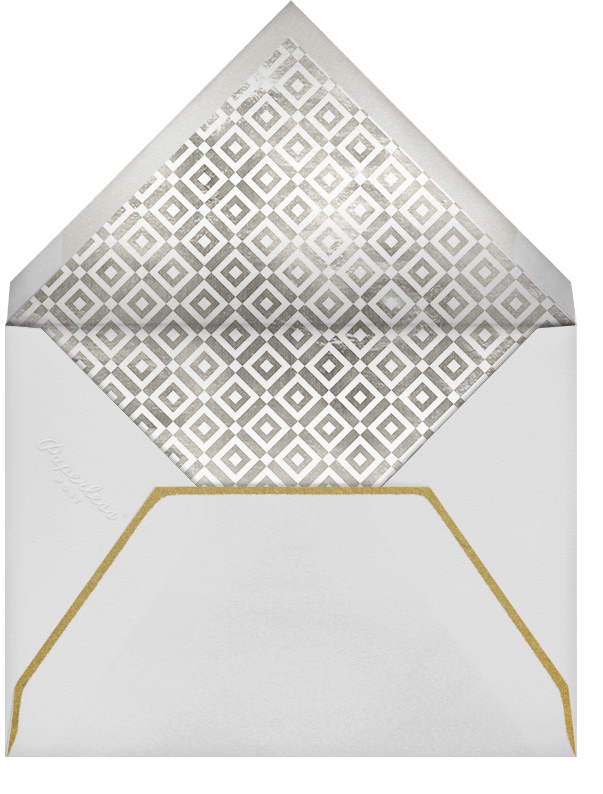 Rock On (Greeting) - Metallic - Jonathan Adler - Congratulations - envelope back