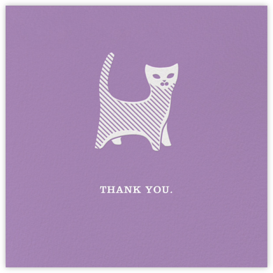 Kittie - Jonathan Adler - Online Thank You Cards