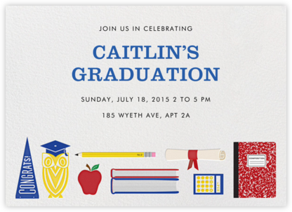 Grad Get-Together - Jonathan Adler - Celebration invitations