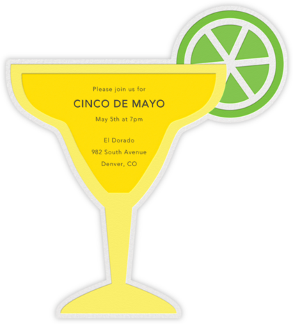 On the Rocks (Invite) - Yellow - Jonathan Adler - Cinco de Mayo Invites