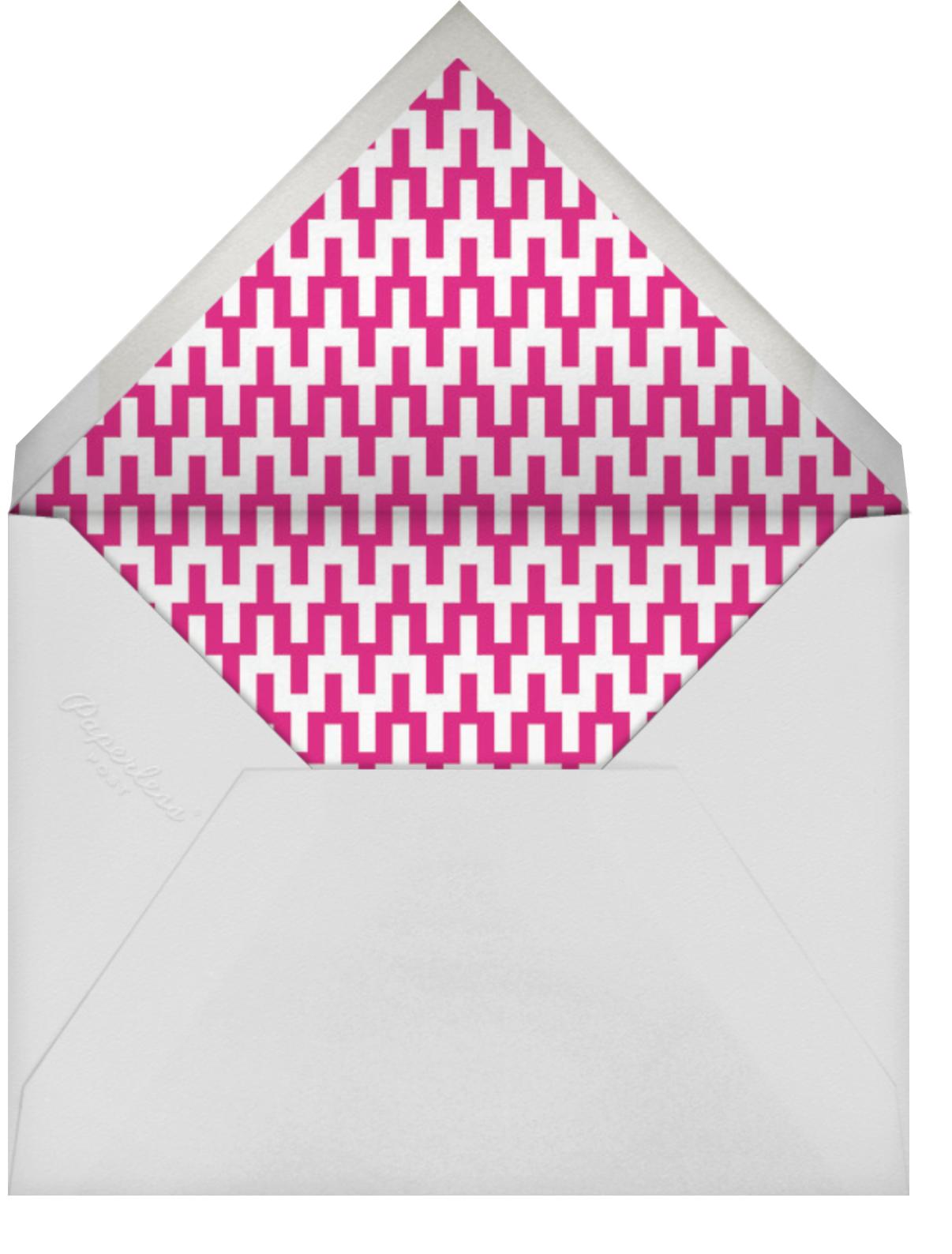 On the Rocks (Greeting) - Pink - Jonathan Adler - Birthday - envelope back