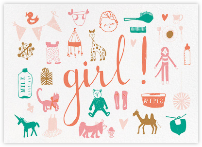 Girl Girl Girl! - Mr. Boddington's Studio - Online Greeting Cards
