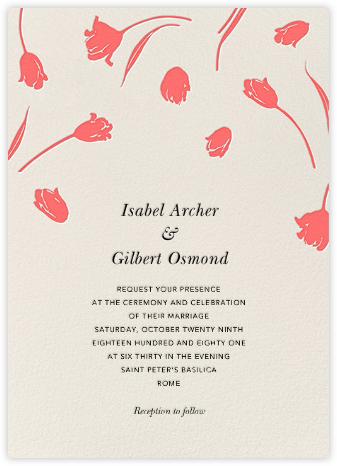 Tulip Dot - Granita - Oscar de la Renta - Wedding Invitations