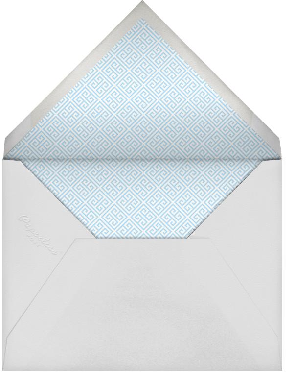 Baby Elephant - Blue - Jonathan Adler - Birth - envelope back