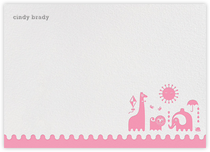 Junior - Pink - Jonathan Adler - Baby and kids' stationery
