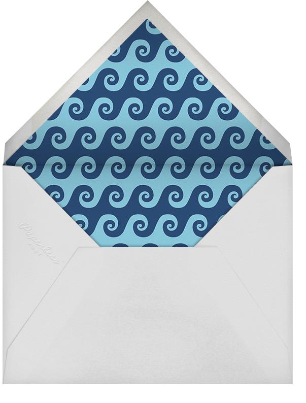 Wave on Wave - Jonathan Adler - Personalized stationery - envelope back