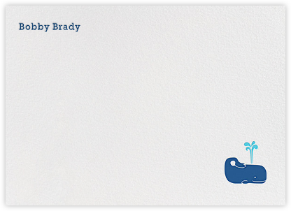 A Whale of a Time - Jonathan Adler - Baby and kids' stationery