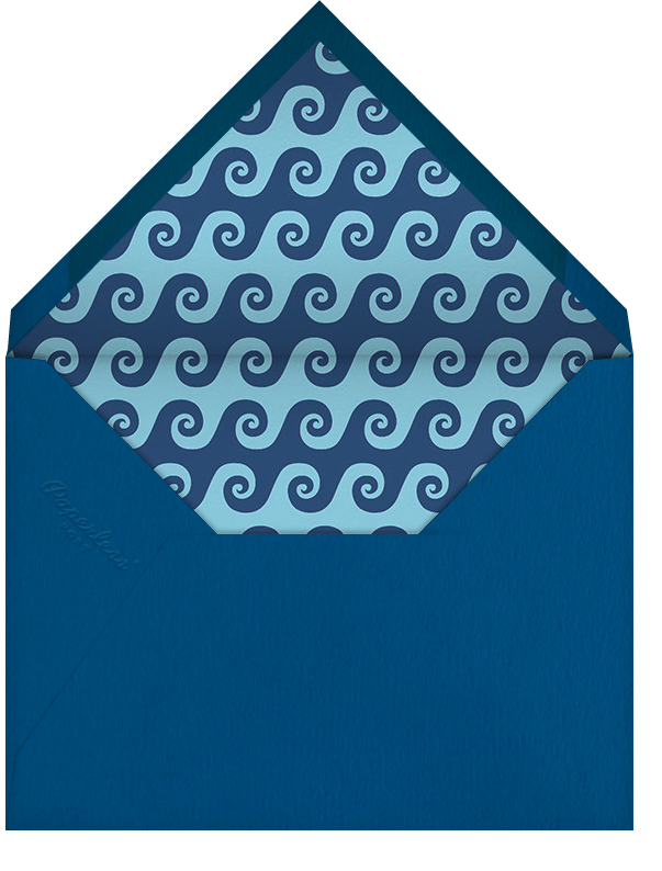 A Whale of a Time - Jonathan Adler - Kids' stationery - envelope back