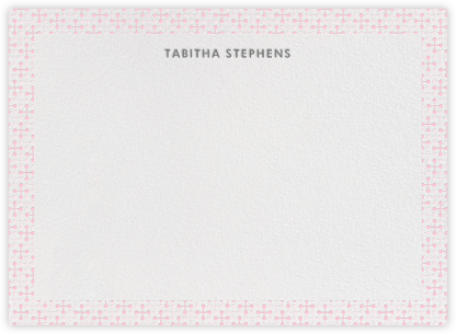 Jacks (Stationery) - Pink - Jonathan Adler - Baby and kids' stationery