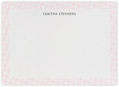 Jacks (Stationery) - Pink - Jonathan Adler - Stationery