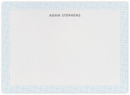 Jacks (Stationery) - Blue - Jonathan Adler - Baby and kids' stationery