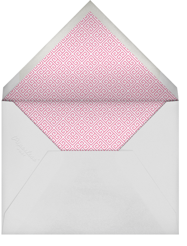 Baby Elephant - Pink - Jonathan Adler - Birth - envelope back
