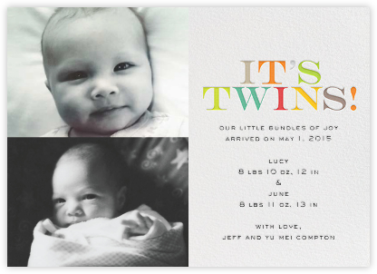 It's Twins (Photo) - bluepoolroad - bluepoolroad announcements