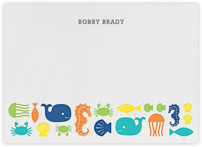 Sea Life - Jonathan Adler - Baby and kids' stationery