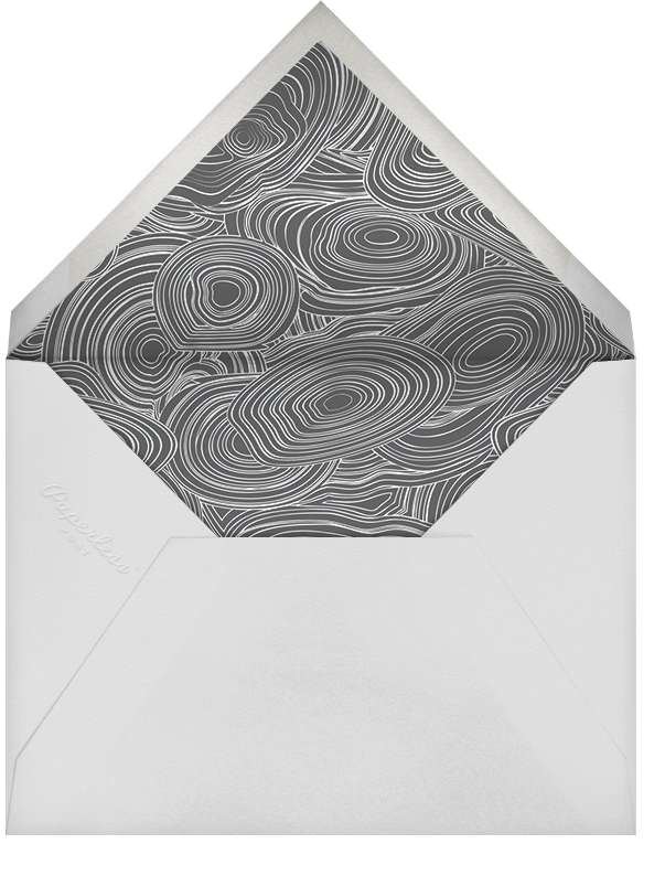 Malachite (Invitation) - Gray - Jonathan Adler - General entertaining - envelope back