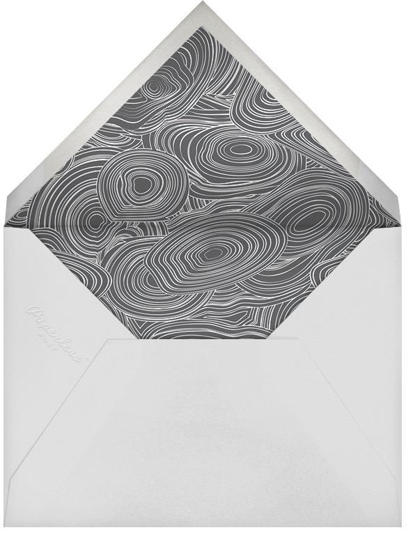 Malachite (Invitation) - Ivory - Jonathan Adler - General entertaining - envelope back