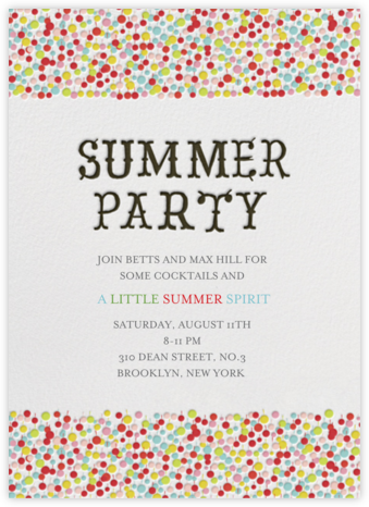 Another Mint Julep - Brights - Mr. Boddington's Studio - Summer Party Invitations