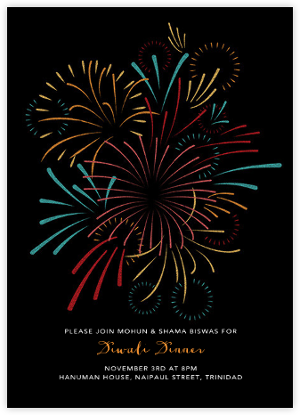 Skybursts - Paperless Post - Diwali invitations