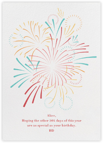 Skybursts - White - Paperless Post - Online greeting cards