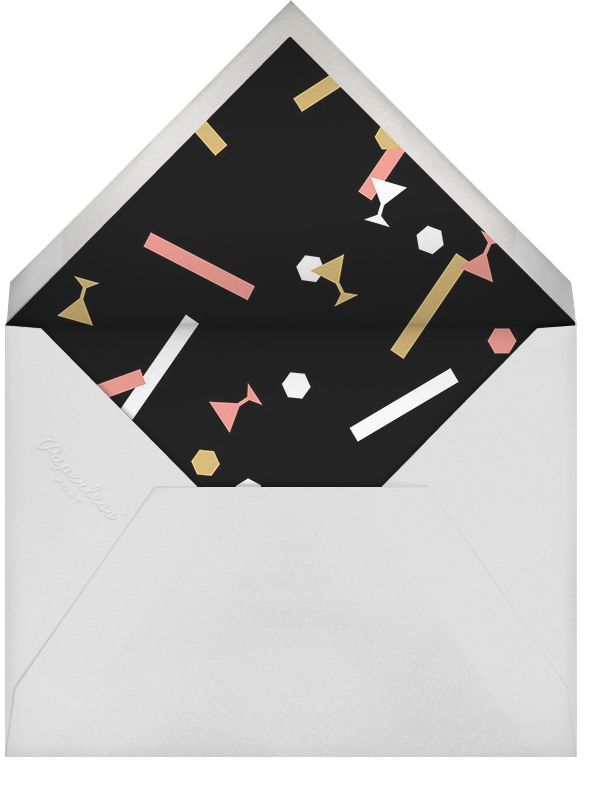 Confettitini - Paperless Post - New Year's Eve - envelope back