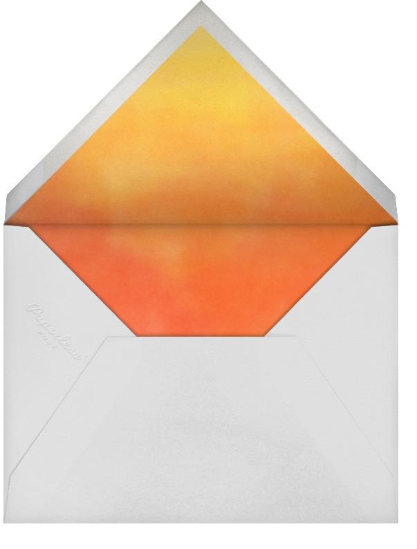 Tequila Sunrise - Paperless Post - Bachelorette party - envelope back