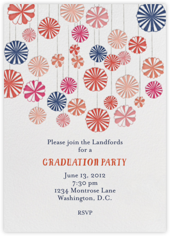 Mr. Porter's Ribbons - Pinks - Mr. Boddington's Studio - Celebration invitations