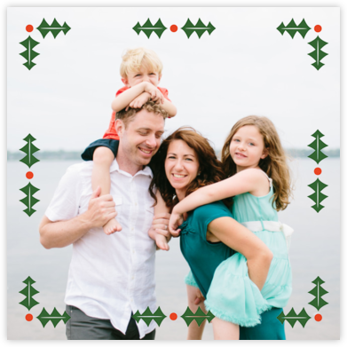 Garland Geometric - Paperless Post - Holiday Cards