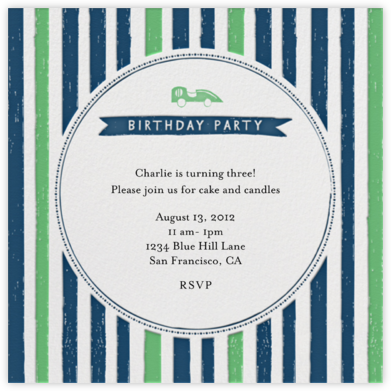 Grab the Keys - Great Scot - Mr. Boddington's Studio - Online Kids' Birthday Invitations