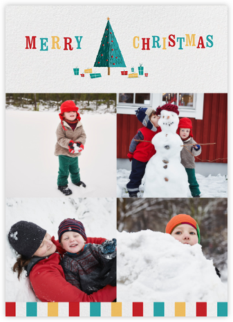 Technicolor Christmas (Photo) - Paperless Post -