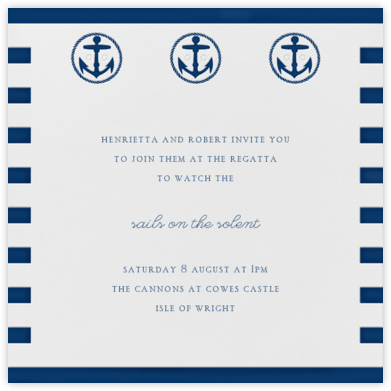 Sailor Sweater - Paperless Post - Sporting Event Invitations