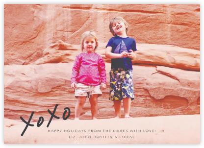 With Hugs and Kisses (Photo) - Slate - Linda and Harriett -