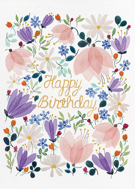 Birthday Whispers (Anna Emilia Laitinen) - Red Cap Cards - Birthday cards