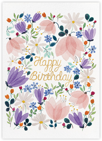 Birthday Whispers (Anna Emilia Laitinen) - Red Cap Cards - Online greeting cards