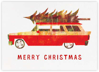 Holiday Chevy (Chris Sasaki) - Red Cap Cards -