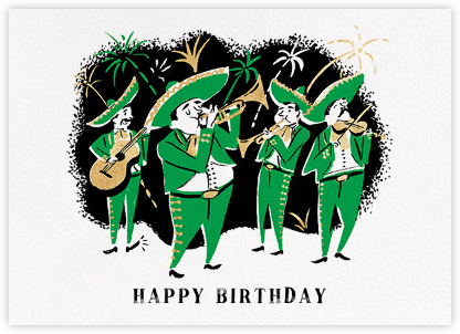 Fiesta (Nicholas John Frith) - Red Cap Cards - Birthday