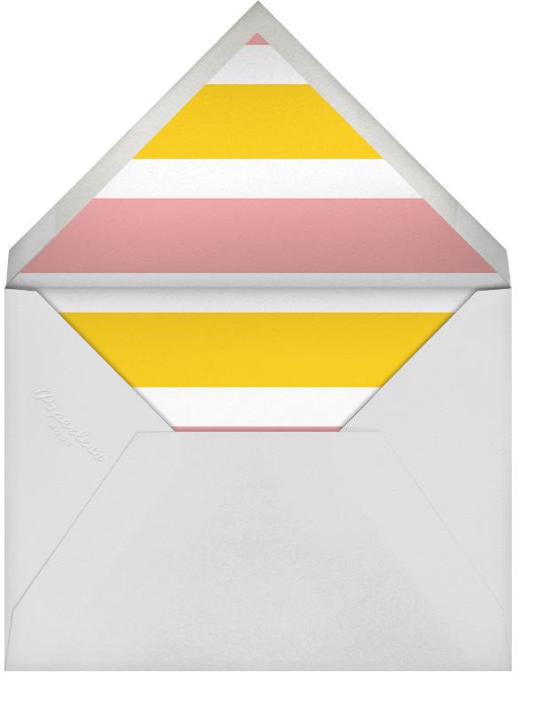 Racing Silk Chevron - Paperless Post - Sports - envelope back