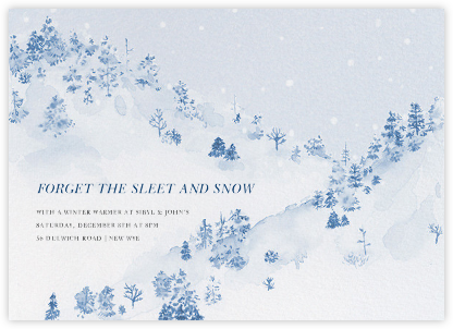 Winter in the Alps - Paperless Post -