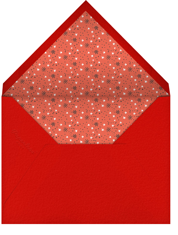 Holly Jolly Christmas - Hello!Lucky - Christmas - envelope back