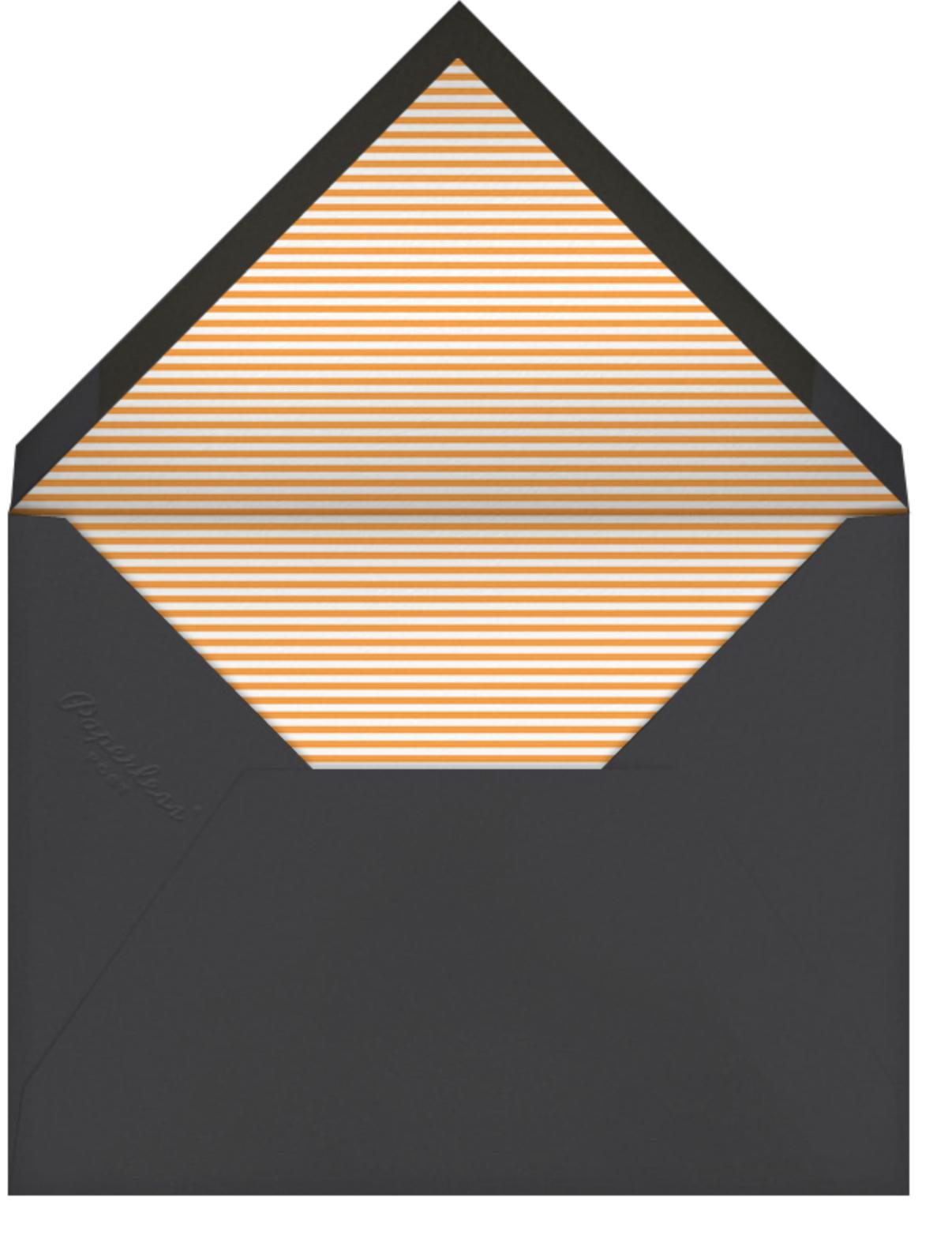 Tricky Trio - Petit Collage - Halloween - envelope back