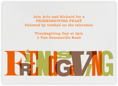 Foodgiving - Paperless Post - Thanksgiving invitations