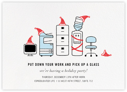 Office Space - Paperless Post - Invitations