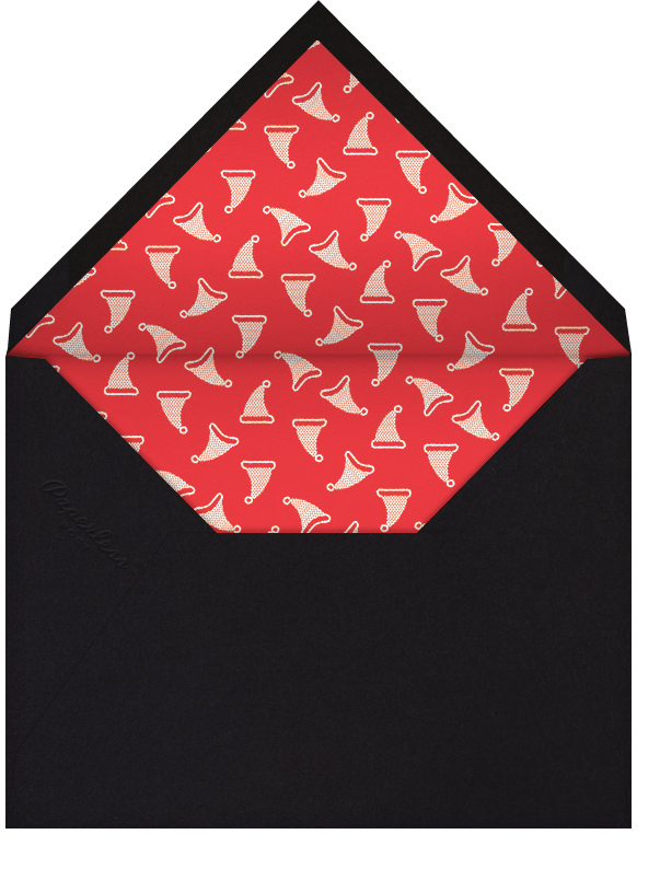 Office Space - Paperless Post - Christmas party - envelope back