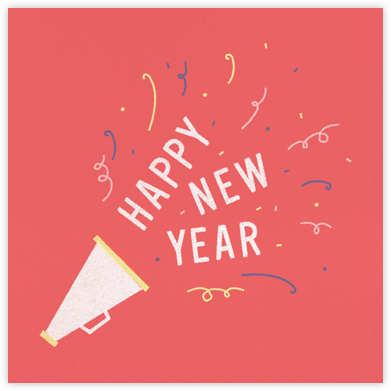 Make Some Noise - Paperless Post - New Year cards