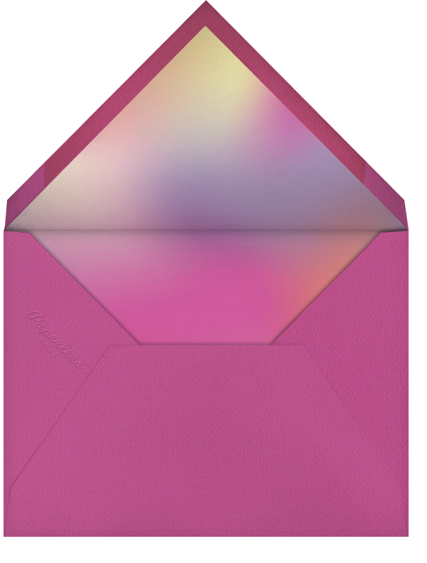 Happy Neon Year - Paperless Post - New Year - envelope back